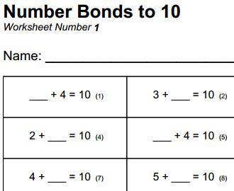 Roman numerals homework sheet